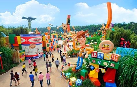 香港ディズニー-トイストーリーランド