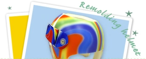 リモルディングヘルメット
