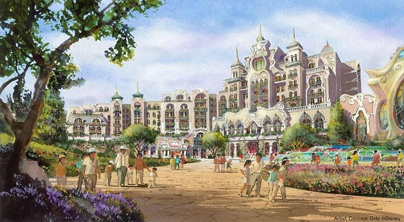 ディズニシー新エリアホテル