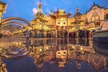 ディズニー雨