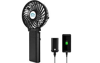 USB充電式携帯扇風機