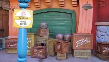 トゥーンタウン木箱
