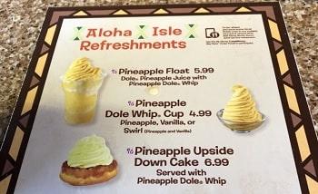WDWパイナップルソフトクリーム