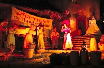 カリブの海賊赤毛